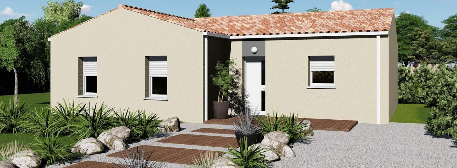 Image Maison 85.27 m² avec terrain à MARCILLAC (GIRONDE - 33)
