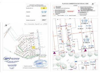 Photo du terrain à bâtir de 533m²<br> à ILLIERS-COMBRAY (28)