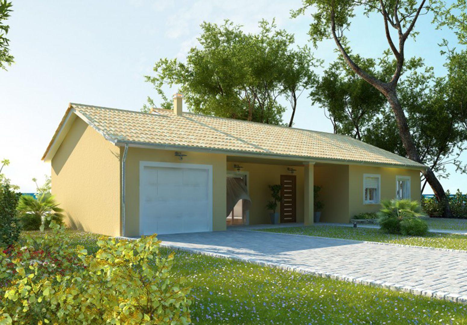 Maison 89.7 m² avec terrain à SAINTE-ANNE-SUR-GERVONDE (38) 1