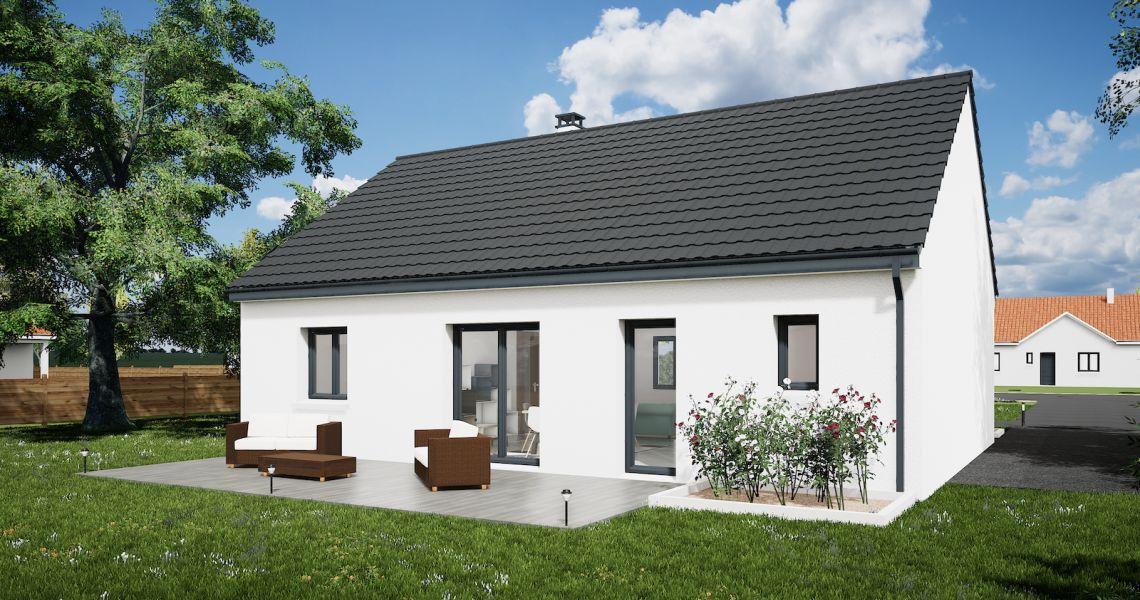 image Maison 85.46 m² avec terrain à SAINT-JEAN-DE-BRAYE (45)