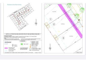 Photo du terrain à bâtir de 450m²<br> à EPERNON (28)