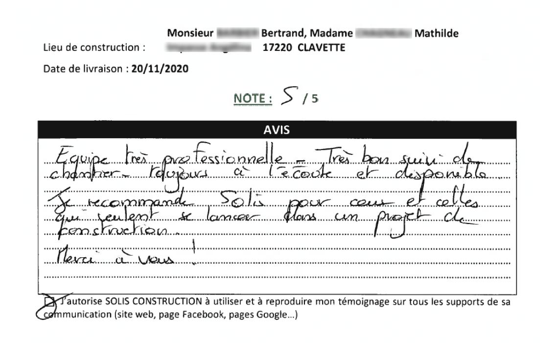 Avis Barbier Clavette - Novembre 2020