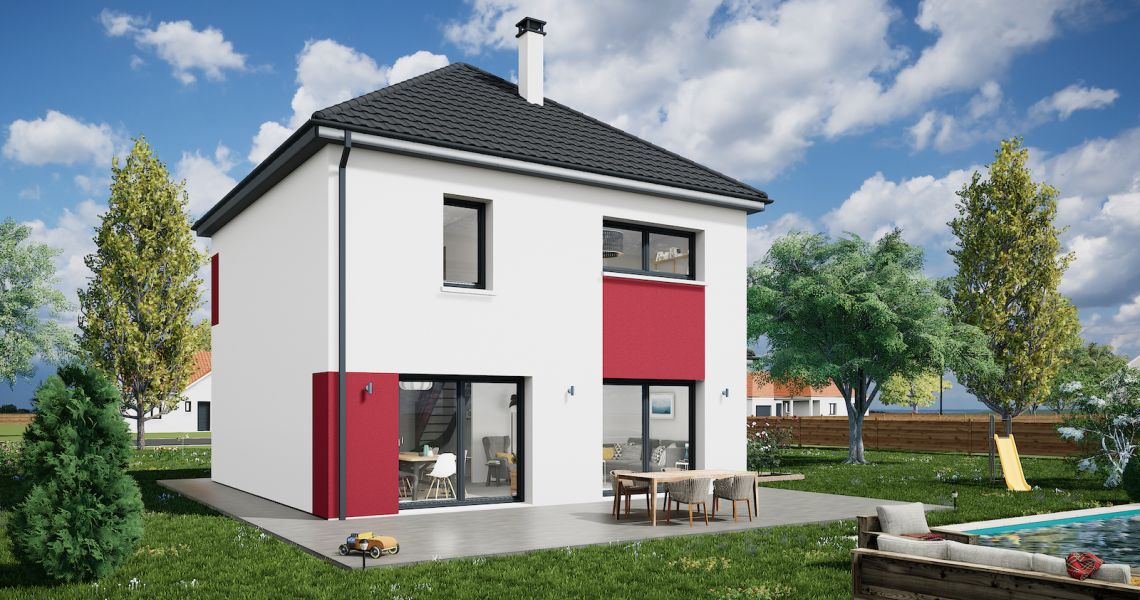 image Maison 105.07 m² avec terrain à LA CHAPELLE-SAINT-MARTIN-EN-PLAINE (41)