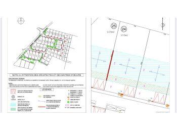 Photo du terrain à bâtir de 513m²<br> à CHARTRES (28)