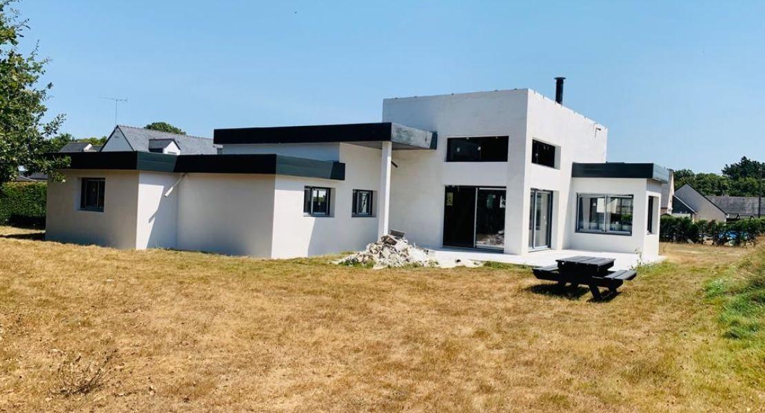 image Livraison d'une construction de maison neuve à SAINT-NICOLAS-DE-REDON (44)