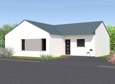 image offre-terrain-maison Maison 98.62 m² avec terrain à GRAND-FOUGERAY (35)