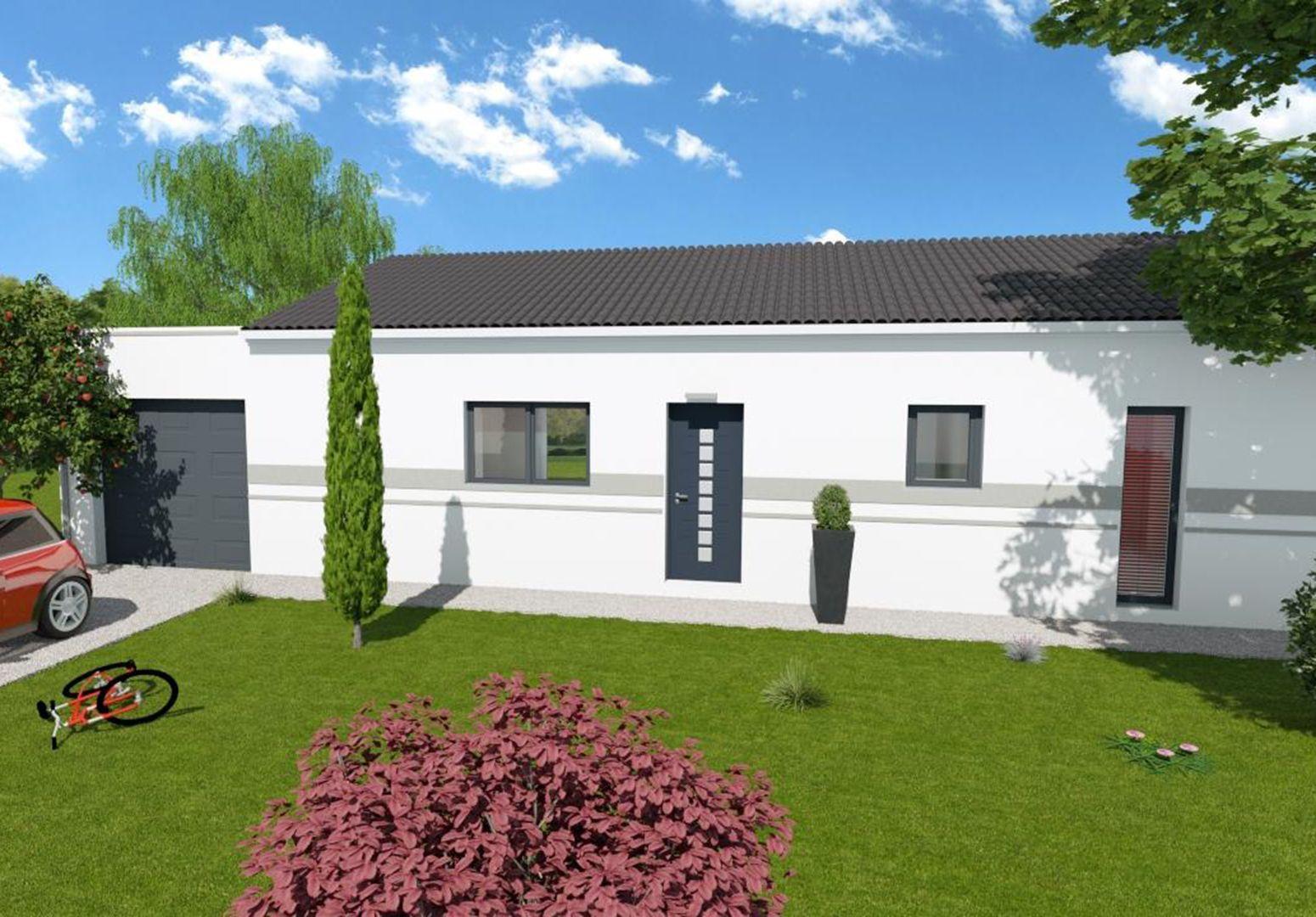 Photo de la maison n°4 de 87 m² à SAINTES