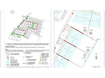 Photo du terrain à bâtir de 543m²<br> à CHARTRES (28)