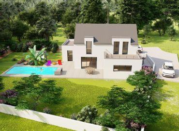 image Maison 135 m² avec terrain à QUILLY (44)