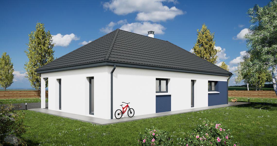 image Maison 90.15 m² avec terrain à CEPOY (45)