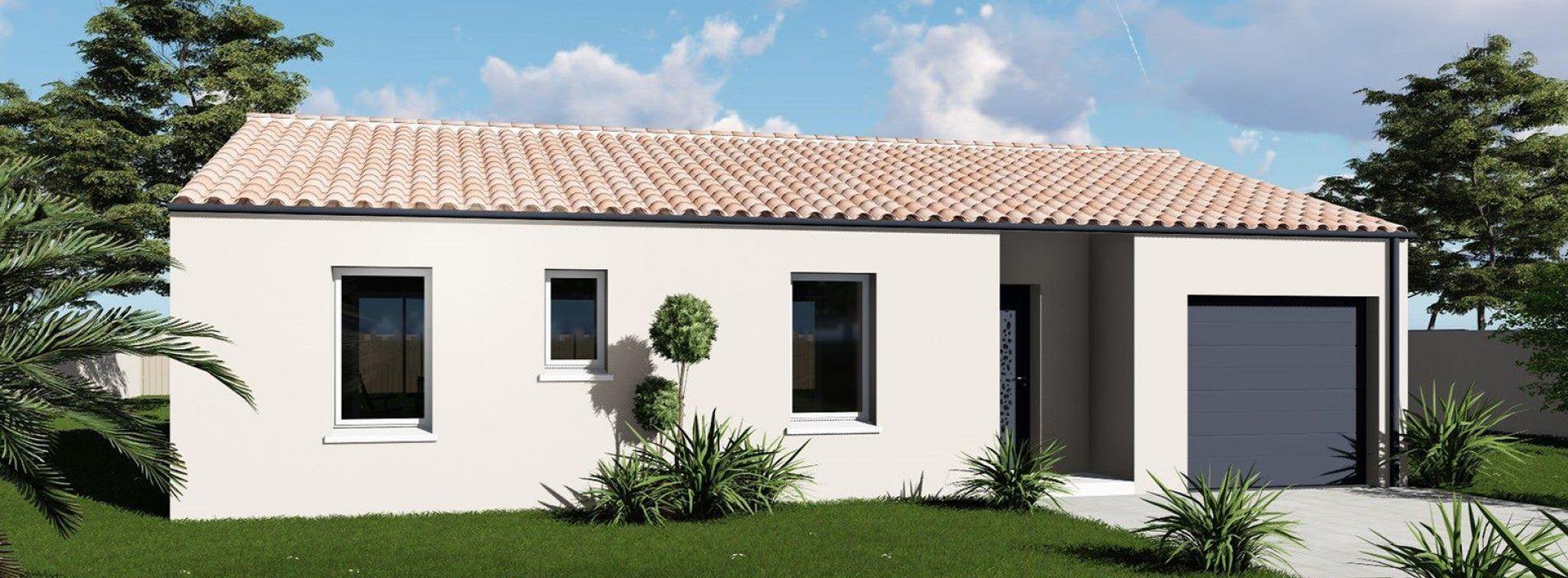 Image Maison 85.12 m² avec terrain à AUBIE-ET-ESPESSAS