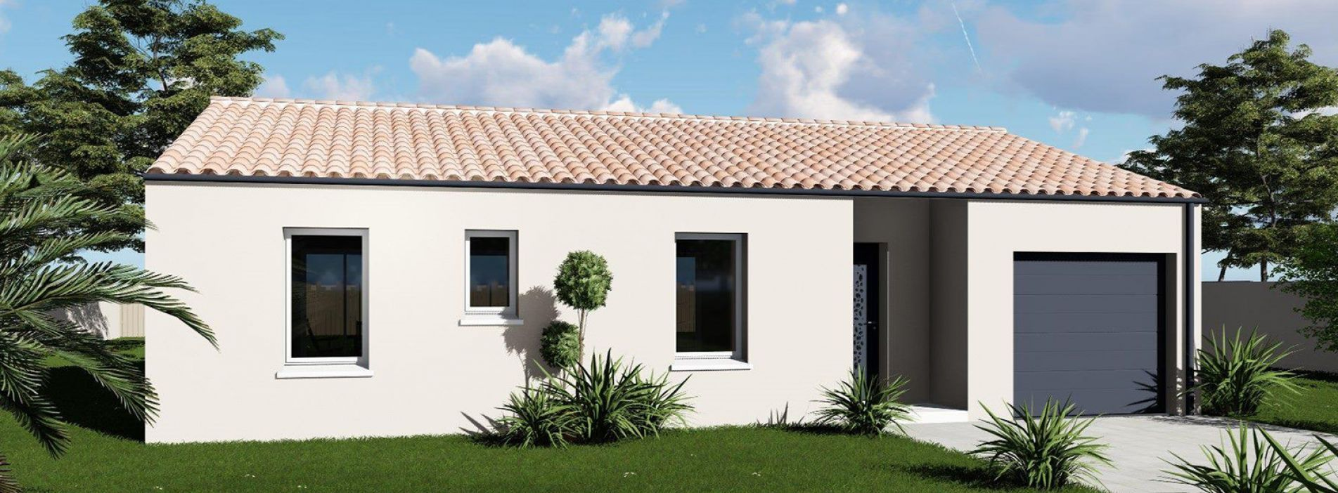 Image Maison 85.12 m² avec terrain à CAMPUGNAN (GIRONDE - 33)