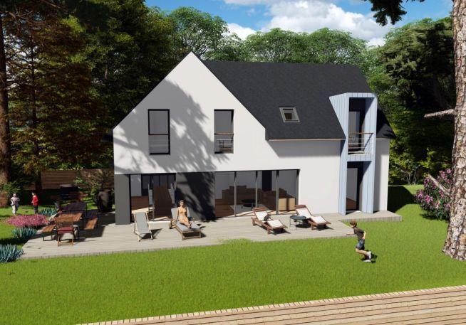 Maison 130 m² avec terrain à PAULX (44)