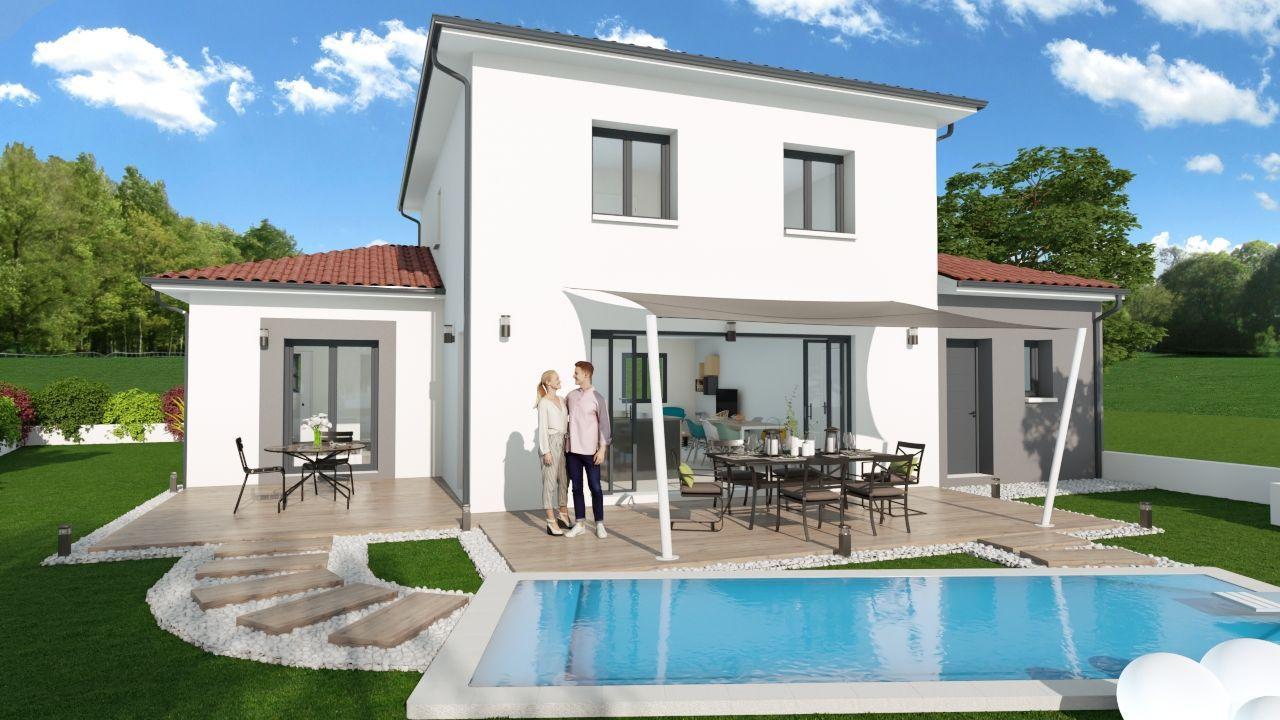 Villa 4 CHBS - SUITE PARENTALE 117 m² avec terrain 400 m² à DIEMOZ (38) 2