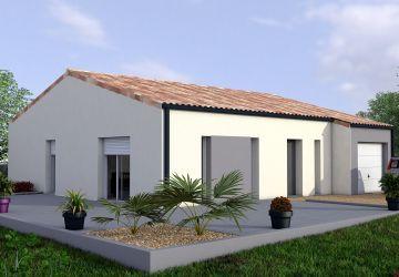 Modèle de maison MANGUE 2CH 64 - SALON TRAV