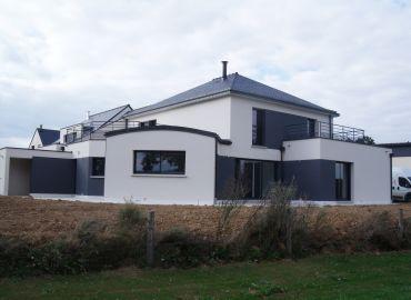 image de la construction de maison Fougères (35)