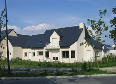 image de la construction de maison Romagné (35)