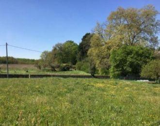 Photo du terrain à bâtir de 1231 m² <br><span>DISSAY(86)