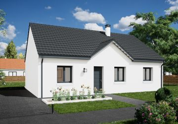 image offre-terrain-maison Maison 85.46 m² avec terrain à SAINT-HILAIRE-SAINT-MESMIN (45)