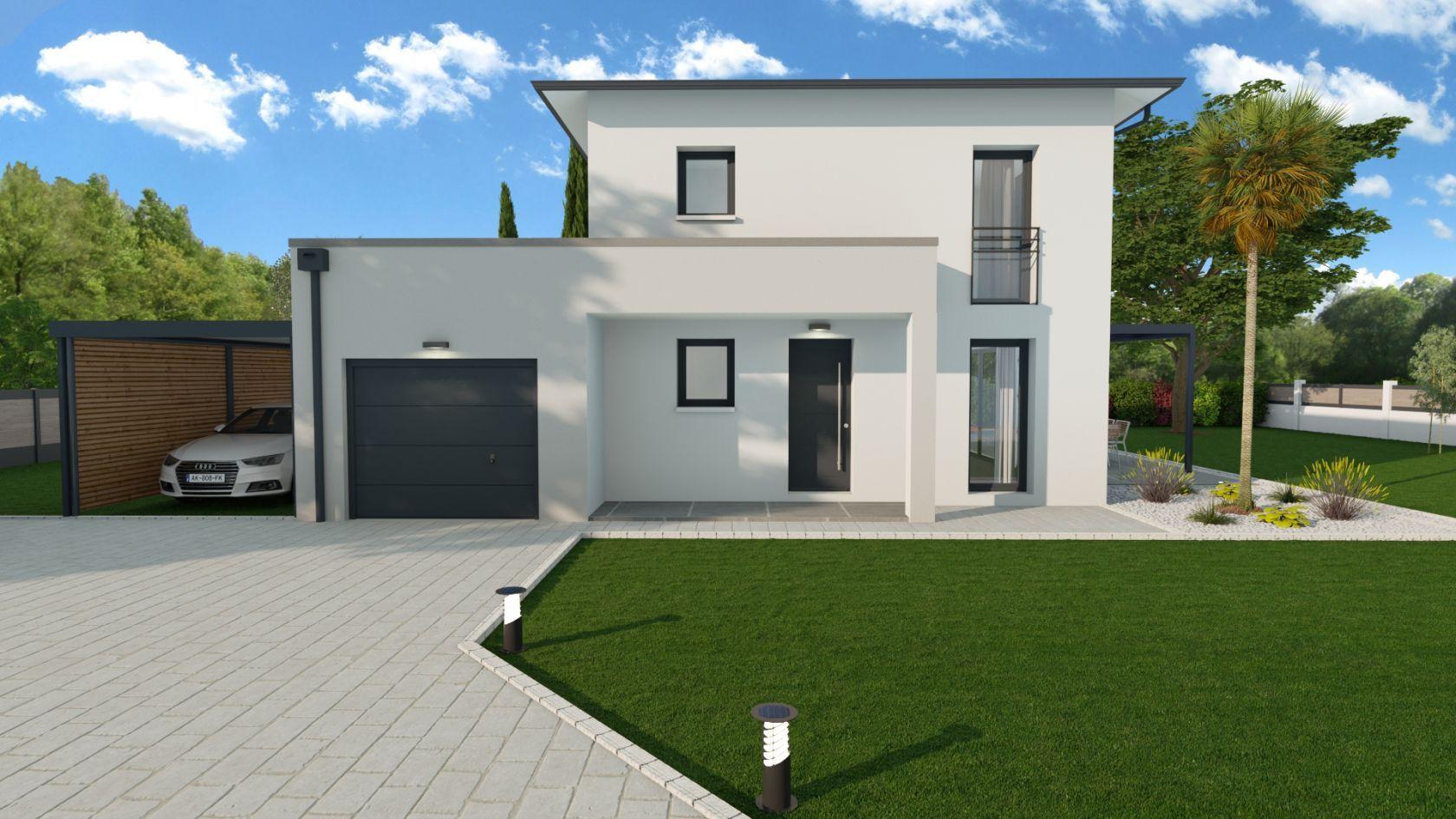 Maison 84.6 m² avec terrain à SAINTE-ANNE-SUR-GERVONDE (38) 2