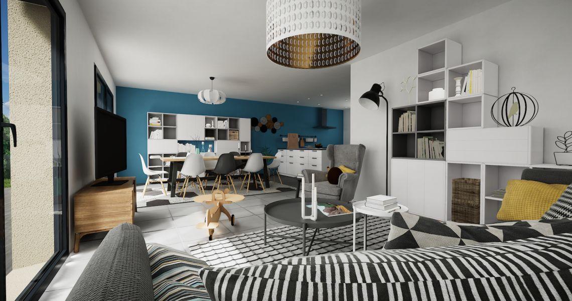 image Maison 105.07 m² avec terrain à LA FERTE-SAINT-AUBIN (45)