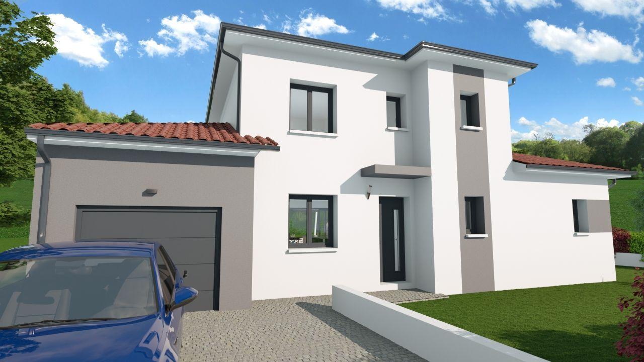 Villa 4 CHBS - SUITE PARENTALE 117 m² avec terrain 400 m² à DIEMOZ (38) 1