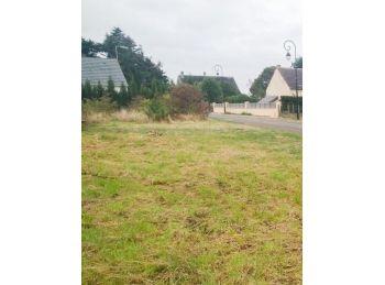 Photo du terrain à bâtir de 662m²<br> à OUARVILLE (28)
