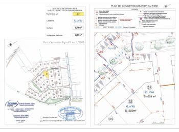 Photo du terrain à bâtir de 625m²<br> à ILLIERS-COMBRAY (28)