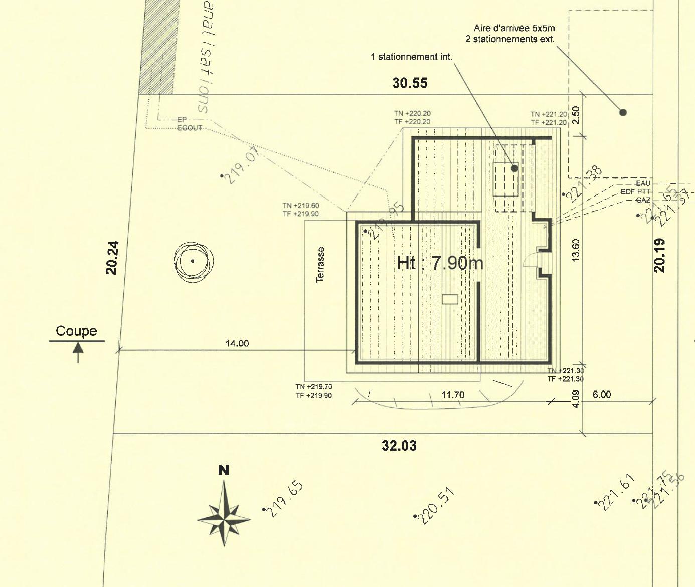 Maison 130 m² avec terrain à CHARVIEU-CHAVAGNEUX (38) 2