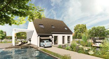 Photo de la maison 4CH de 114m²<br> à SAINT-REMY-LES-CHEVREUSE (78)
