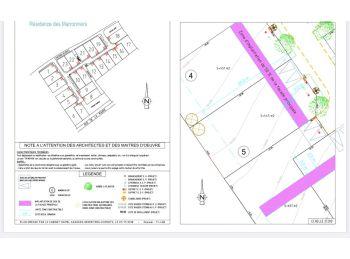 Photo du terrain à bâtir de 445m²<br> à EPERNON (28)