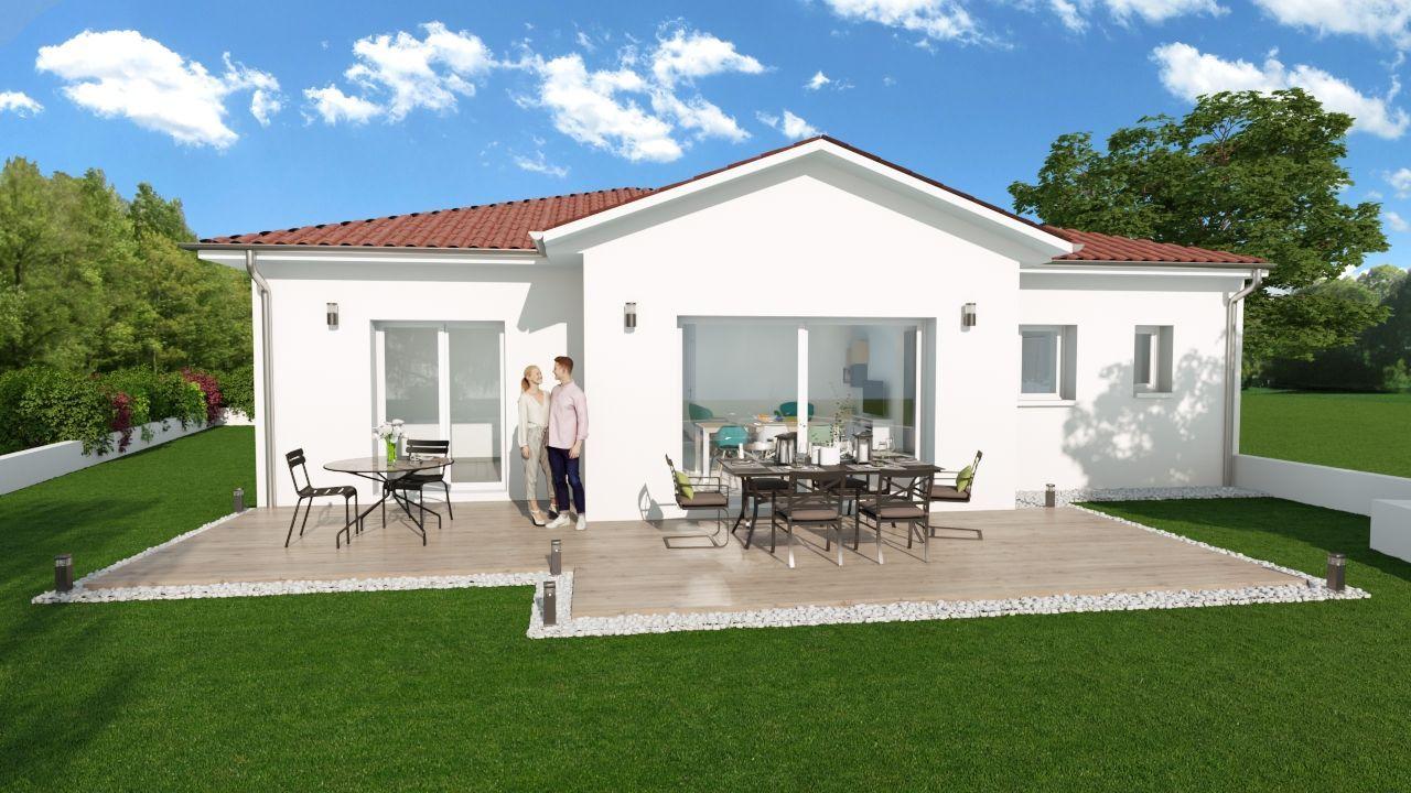 Maison 90 m² avec terrain 400 m² à DIEMOZ (38) 2