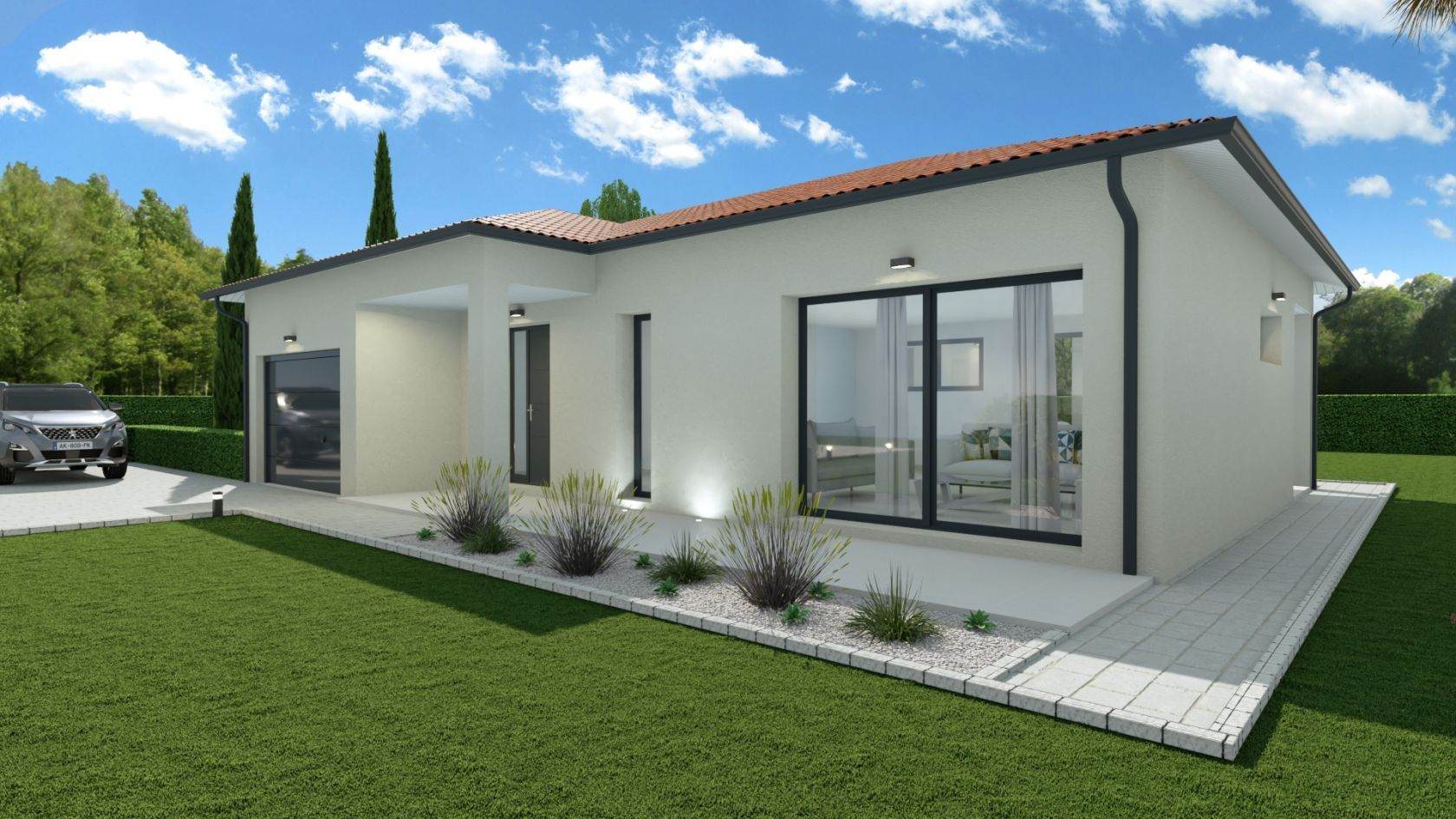 Maison 99.9 m² avec terrain à SAINTE-ANNE-SUR-GERVONDE (38) 2