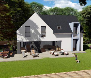 Maison 130 m² avec terrain à GOVEN (35)