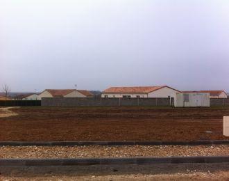 Photo du terrain à bâtir de 680 m² <br><span>CISSE(86)