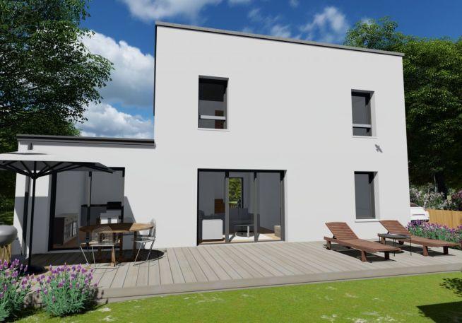 Maison 105 m² avec terrain à SAINT-HERBLON (44)