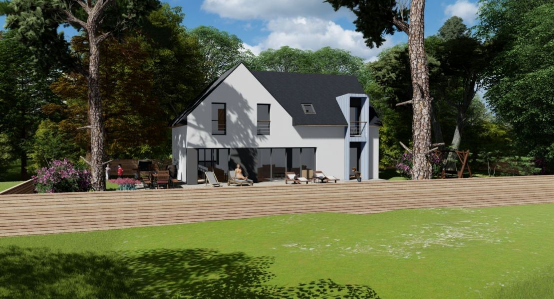 image Maison 130 m² avec terrain à DONGES (44)