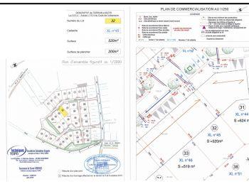 Photo du terrain à bâtir de 519m²<br> à ILLIERS-COMBRAY (28)