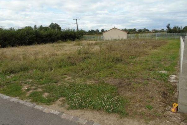 Photo du terrain à bâtir de 1200 m² <br><span>ARCHIGNY(86)