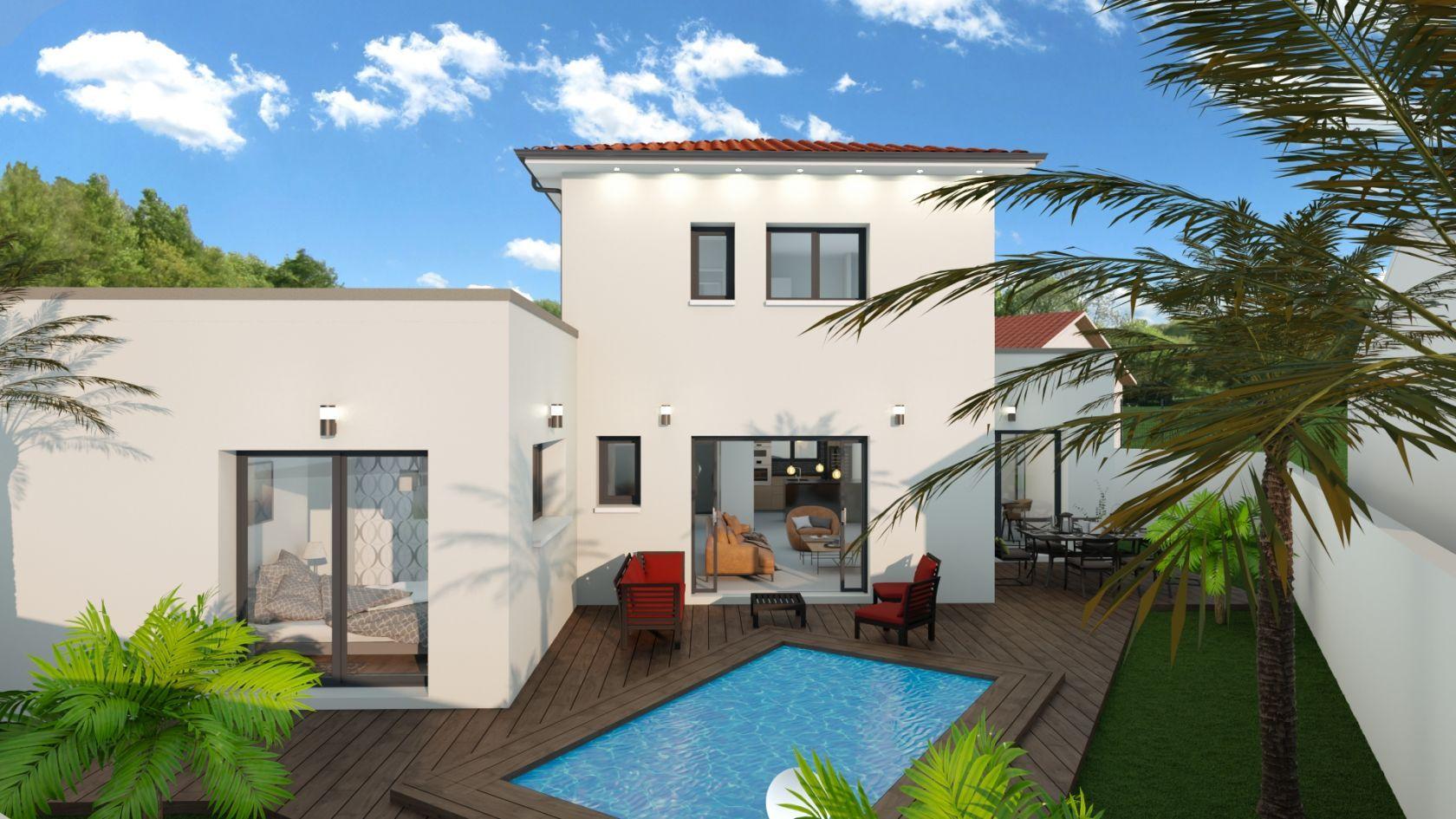 Maison 111 m² avec terrain à GENAS (69) 1