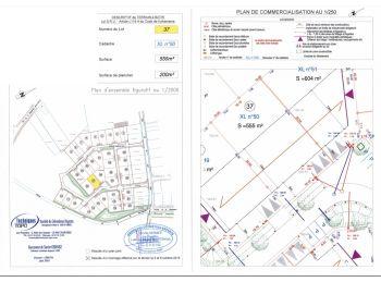 Photo du terrain à bâtir de 555m²<br> à ILLIERS-COMBRAY (28)