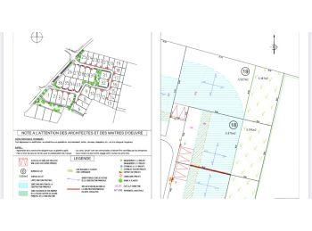 Photo du terrain à bâtir de 703m²<br> à CHARTRES (28)