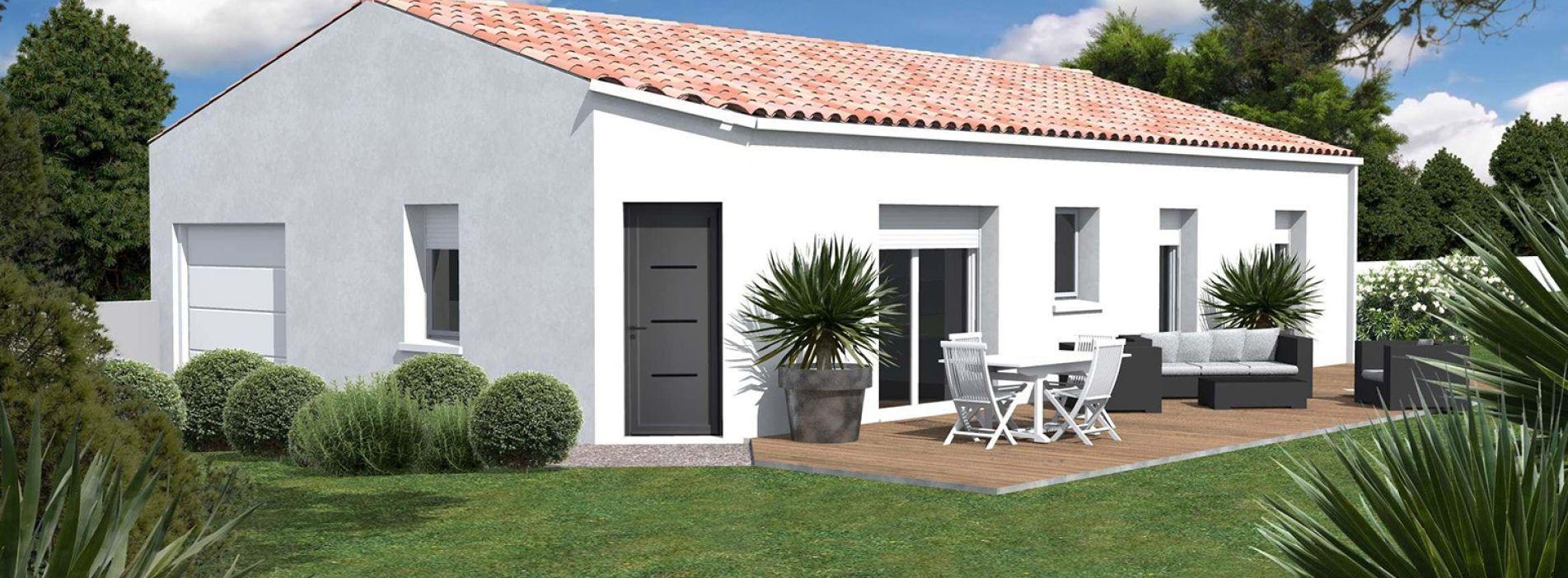 Image Maison 86.33 m² avec terrain à BERSON (GIRONDE - 33)