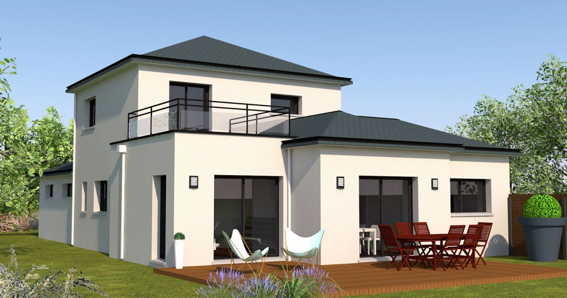 image Maison 109.58 m² avec terrain à SAINT-AUBIN-D'AUBIGNE (35)