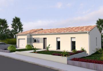 Modèle de maison BERYL T 3CH 88