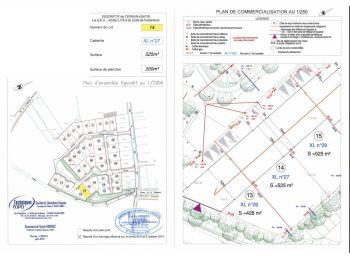 Photo du terrain à bâtir de 525m²<br> à ILLIERS-COMBRAY (28)