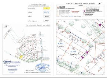 Photo du terrain à bâtir de 447m²<br> à ILLIERS-COMBRAY (28)
