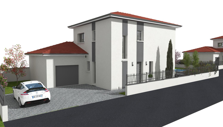 Maison 124.66 m² avec terrain à CHASSIEU (69) 1