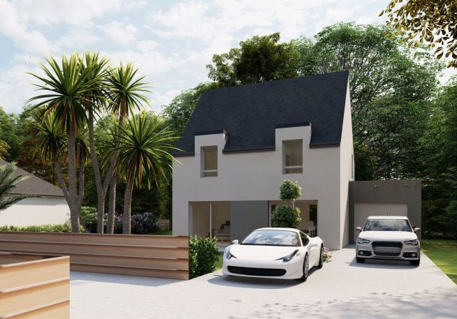 Maison 110 m² avec terrain à MUZILLAC (56)
