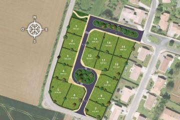 Image du terrain à bâtir à SAINT-REMY